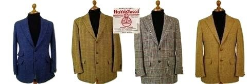 Harris Tweed Mens Jacket