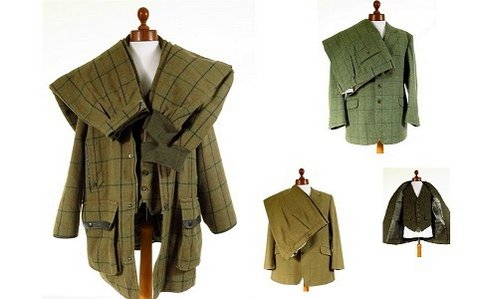 Mens Tweed Suit