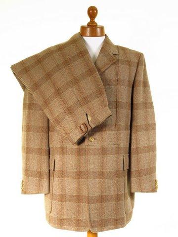 Norfolk tweed shooting suit