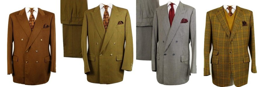 Secondhand Savile Row Suits