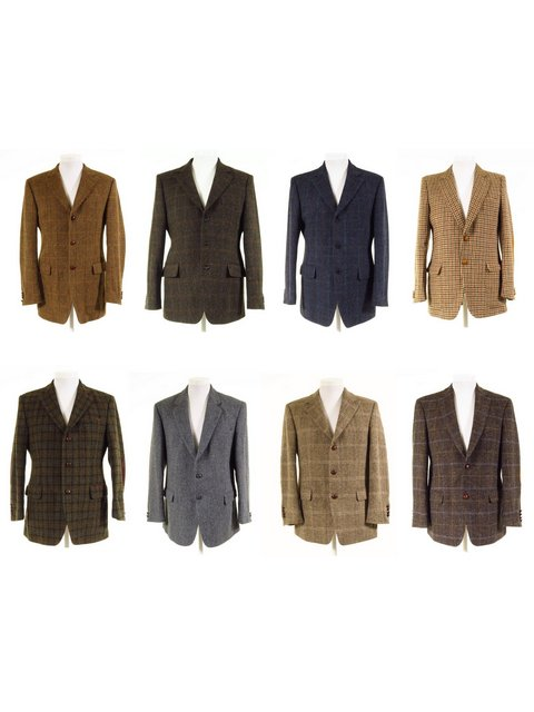 Second Hand Harris Tweed Jackets