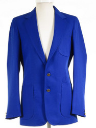 Bright blue blazer