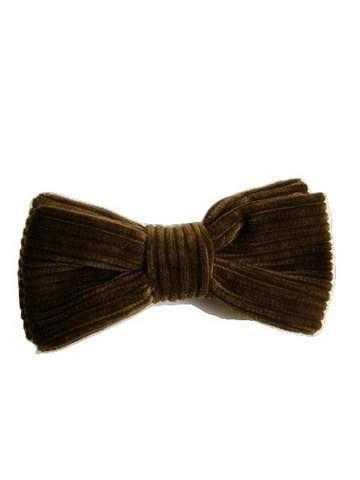 Corduroy bow tie