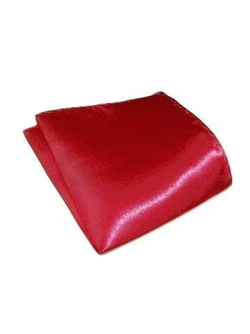 Raspberry pink pocket square