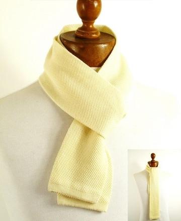 Mens skinny scarf