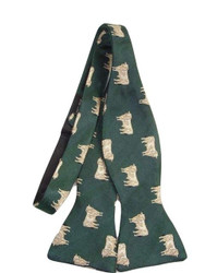Country animal themed bow tie