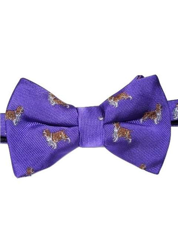 Mens dog themed bow tie