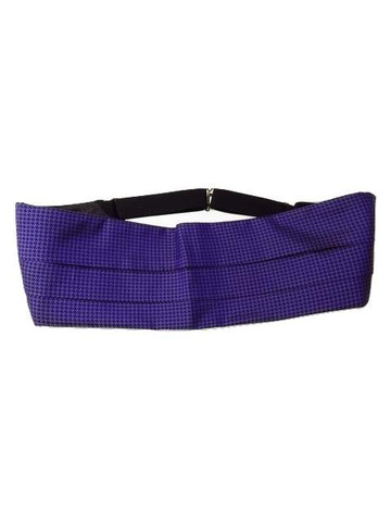 Purple cummerbund