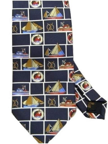 Nautical theme tie