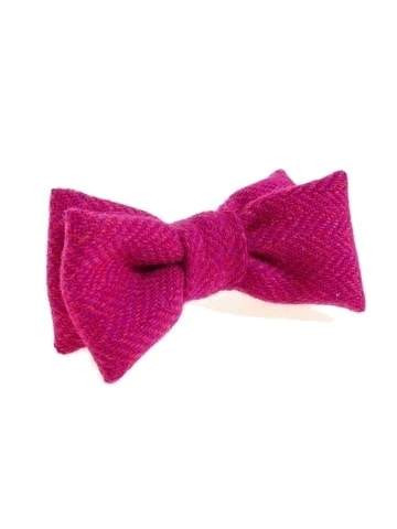 Wool tweed bow bow tie