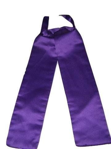Cadbury purple wedding cravat