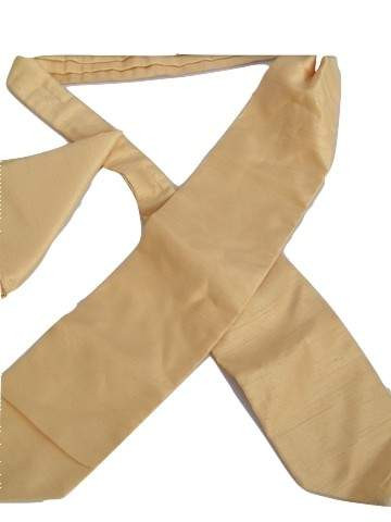 Cravat hanky set gold