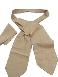 Mens gold cravat