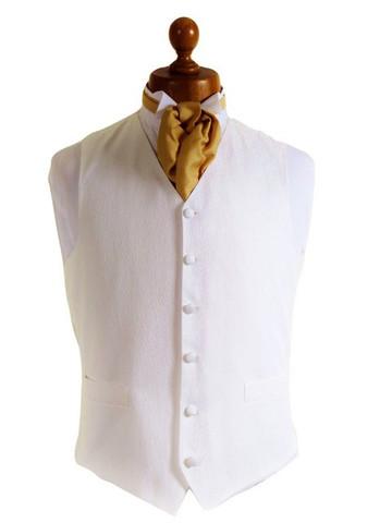 Ivory dress waistcoat