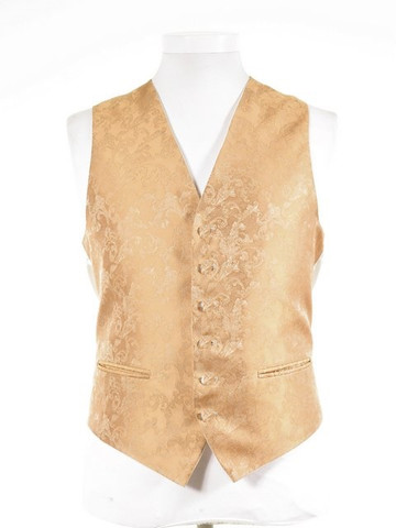 Gold brocade waistcoat