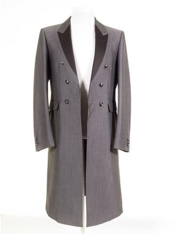 Silver grey frock coat