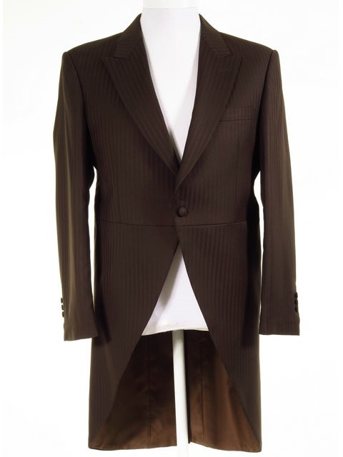 Ex-Hire Brown Morning Wedding Suits - Wilvorst Brown Morning Wedding ...
