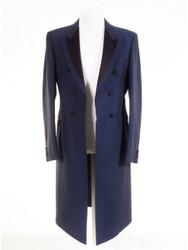 Blue frock coat