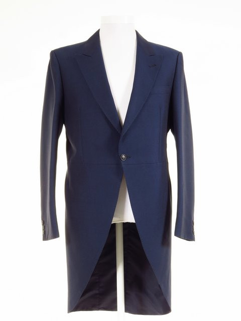 Blue Tailcoat - Ex-Hire Blue Wedding Morning Suit Jacket - All ...