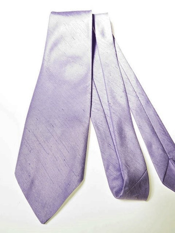 Lilac wedding tie