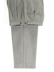 Tonic trousers silver grey