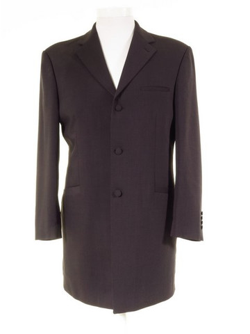 Dark grey Prince Edward suit