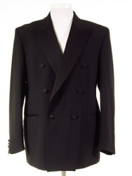 Double breasted dinner jacket