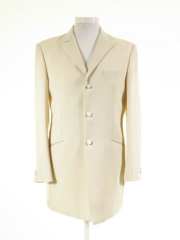 Mens ivory wedding jacket