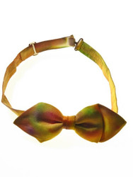 Tie dye bow tie