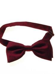 Wine bow tie pre-tied