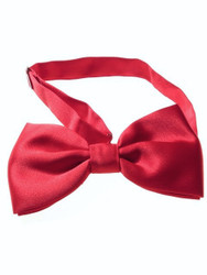 Red butterfly bow tie