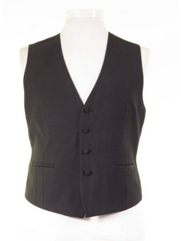 Grey morning suit waistcoat