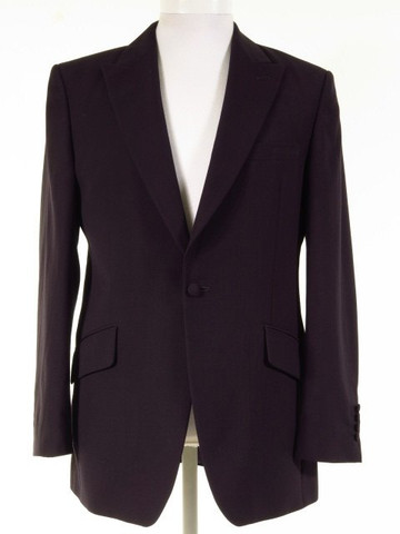 Navy wedding suit jacket