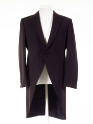 Dark navy blue tailcoat