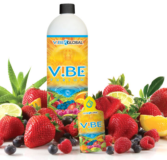 Vibe liquid vitamin and mineral supplement