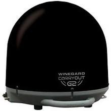 GM6035 Winegard Black Portable Satellite TV Antenna