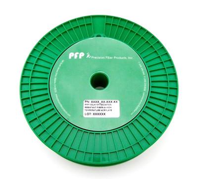 PFP 100um MM Radiation Resistant Fiber w/ High Temperature Acrylate