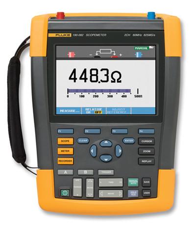 Fluke 190-202/AM ScopeMeter Series II Oscilloscope 200MHz 2Ch