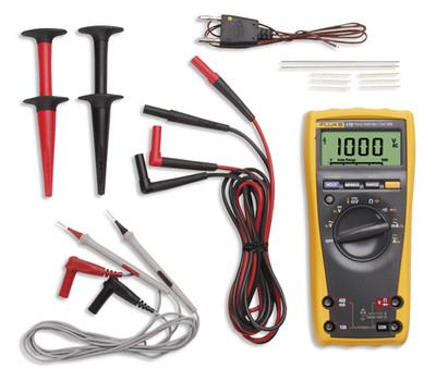 Fluke 179/EDA2 True RMS Digital Multimeter Electronic Combo Kit