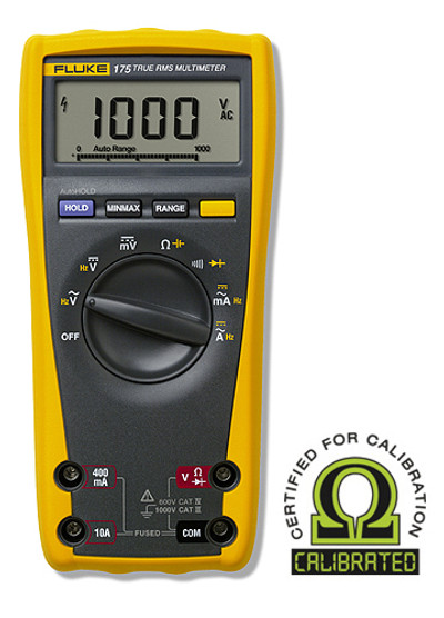 Fluke 175 True RMS Digital Multimeter - Calibrated