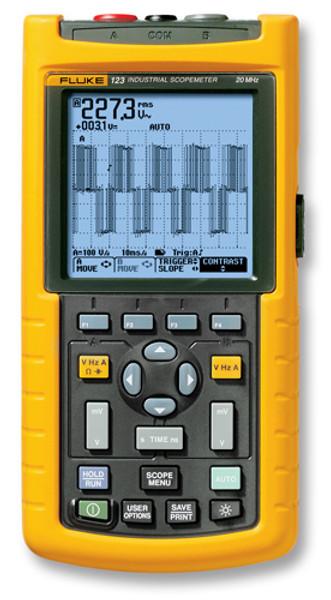 Fluke 123/003 Scopemeter 20MHz Oscilloscope