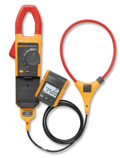 Fluke 381 TRMS AC/DC Clamp Meter 1000 Amp iFLEX w/Remote Display