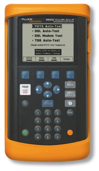 Fluke Networks 990VDSL CopperPro Loop Qualification Tester