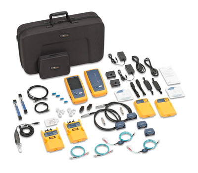 Fluke Networks DSX-5000Mi 120 1 GHz DSX Cable Analyzer w/MM OLTS
