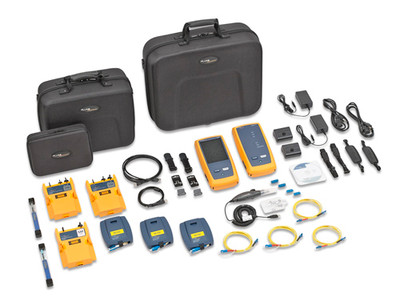 Fluke Networks OFP-CFP-SI OptiFiber Pro & CertiFiber Pro SM Kit