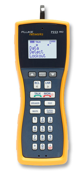 Fluke Networks TS53-AR-09 Test Set w/ABN, PP and RJ11 Cord Set