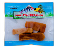 Himalayan Dog Chew - Small Pack 3.5oz bag with 3-5pcs per bag (12pks)