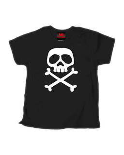 The Misfit Captain - Kid Rockers Children's Tee Shirt Clothing (Black)