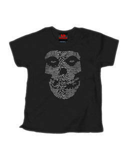 The Unknown Ghost - Kid Rockers Children's Tee Shirt Clothing (Black)