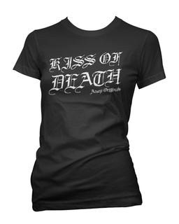 Kiss Of Death - Tee Shirt Aesop Originals Clothing Aesop Originals Clothing (Black)